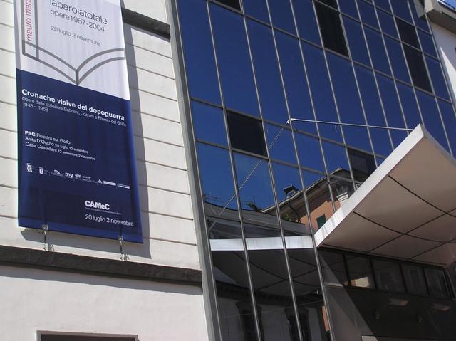 Il Centro di Arte Moderna e Contemporanea alla Spezia